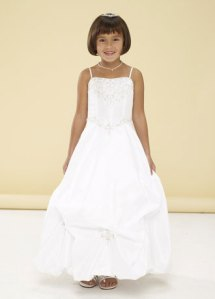 Girls White Dress Trends 2012